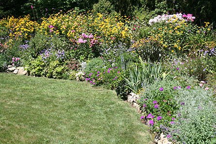 Perennial Flower Bed Design For Cotuit Osterville Chatham Orleans