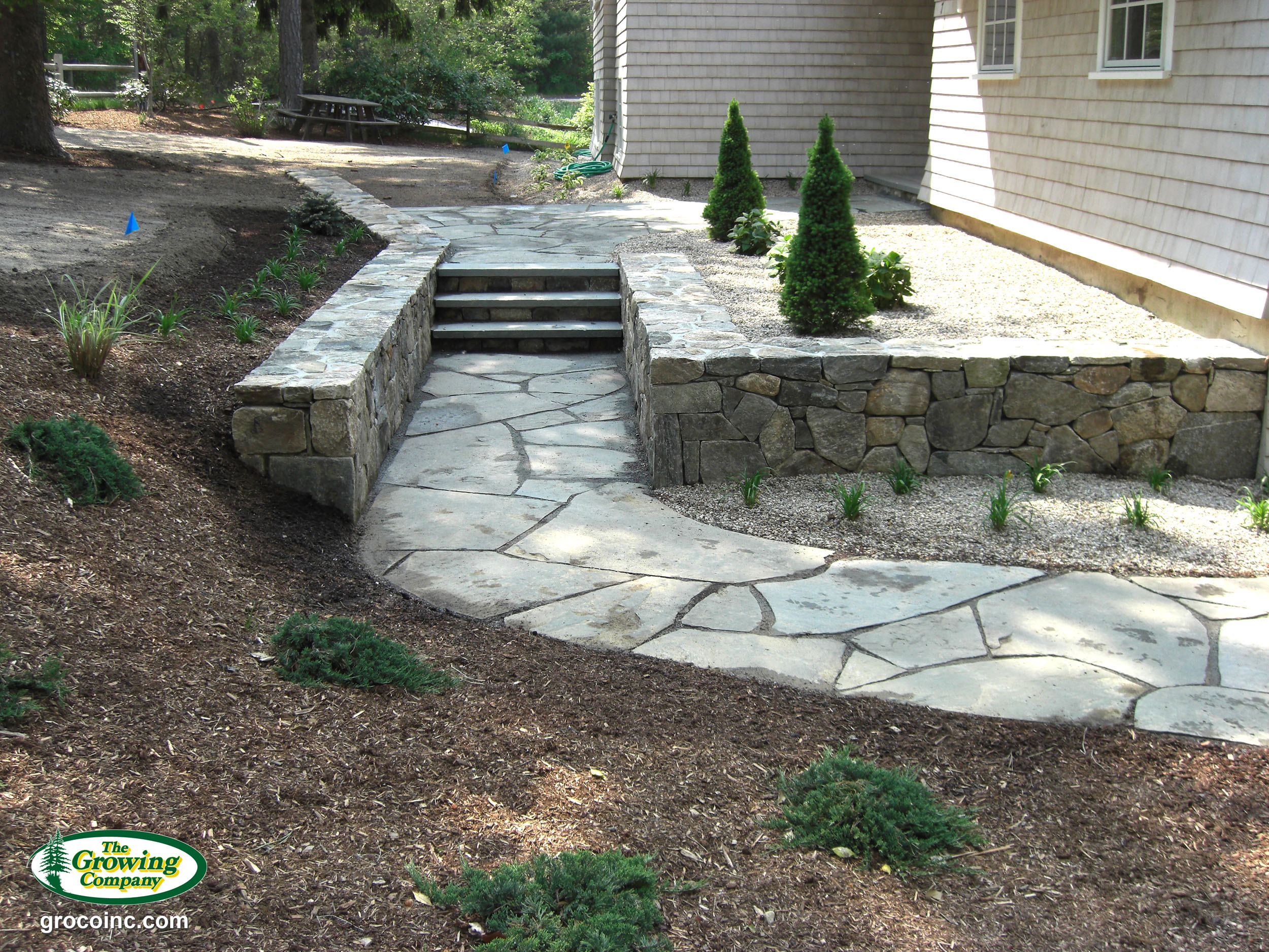 flagstone patios walkways for cotuit osterville chatham orleans