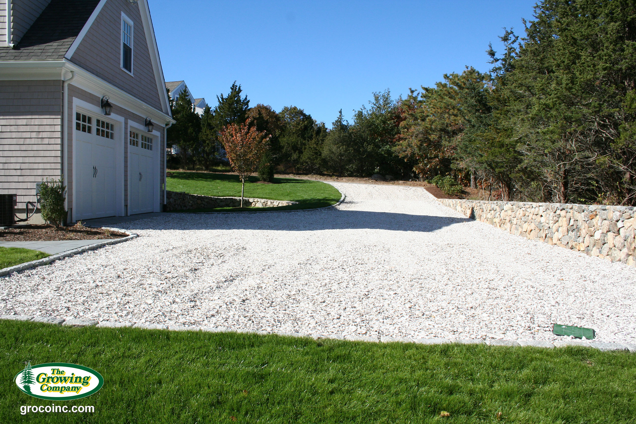 Stone Amp Seashell Driveways For Cotuit Osterville Chatham