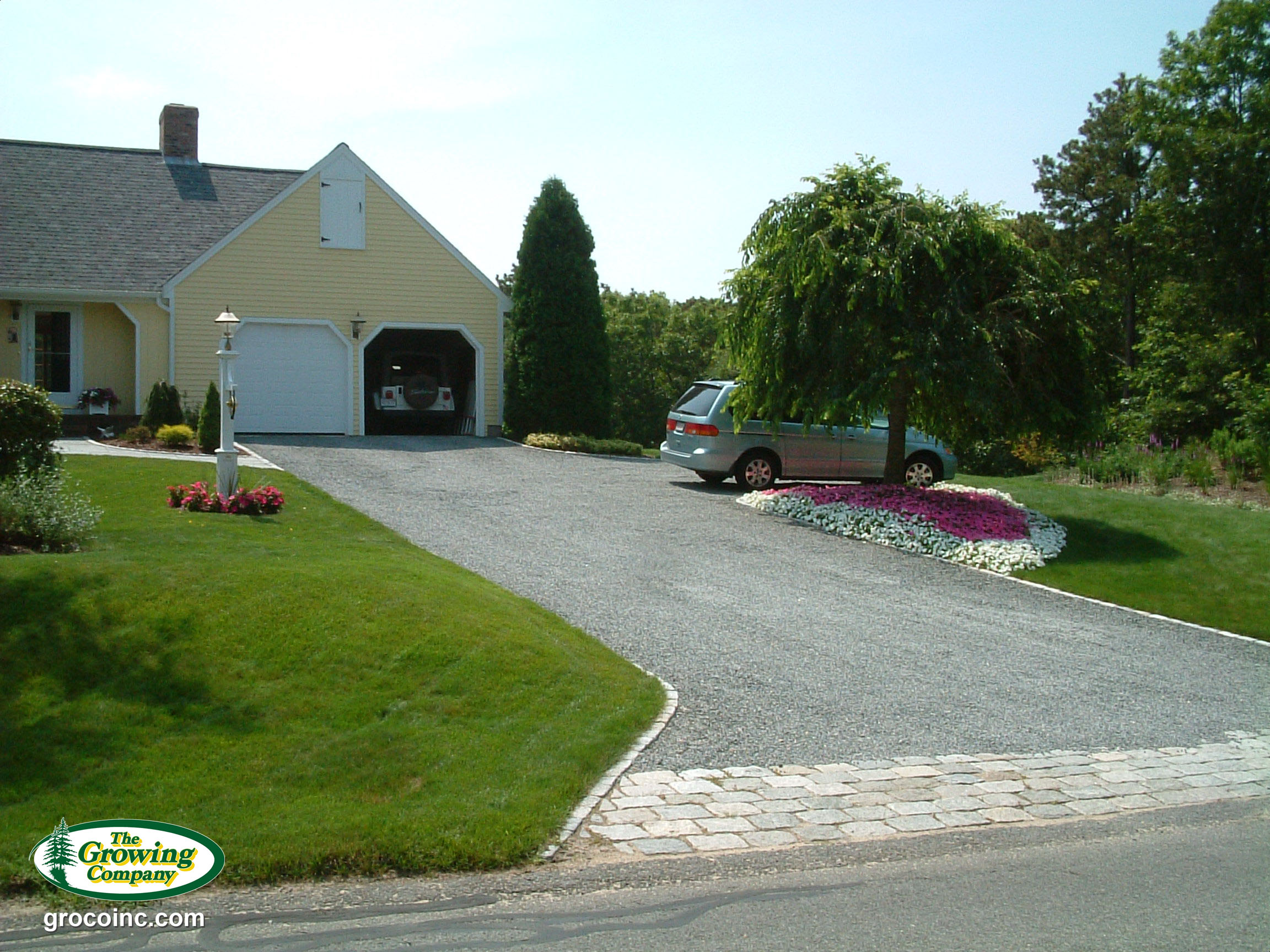 Stone Seashell Driveways For Cotuit Osterville Chatham