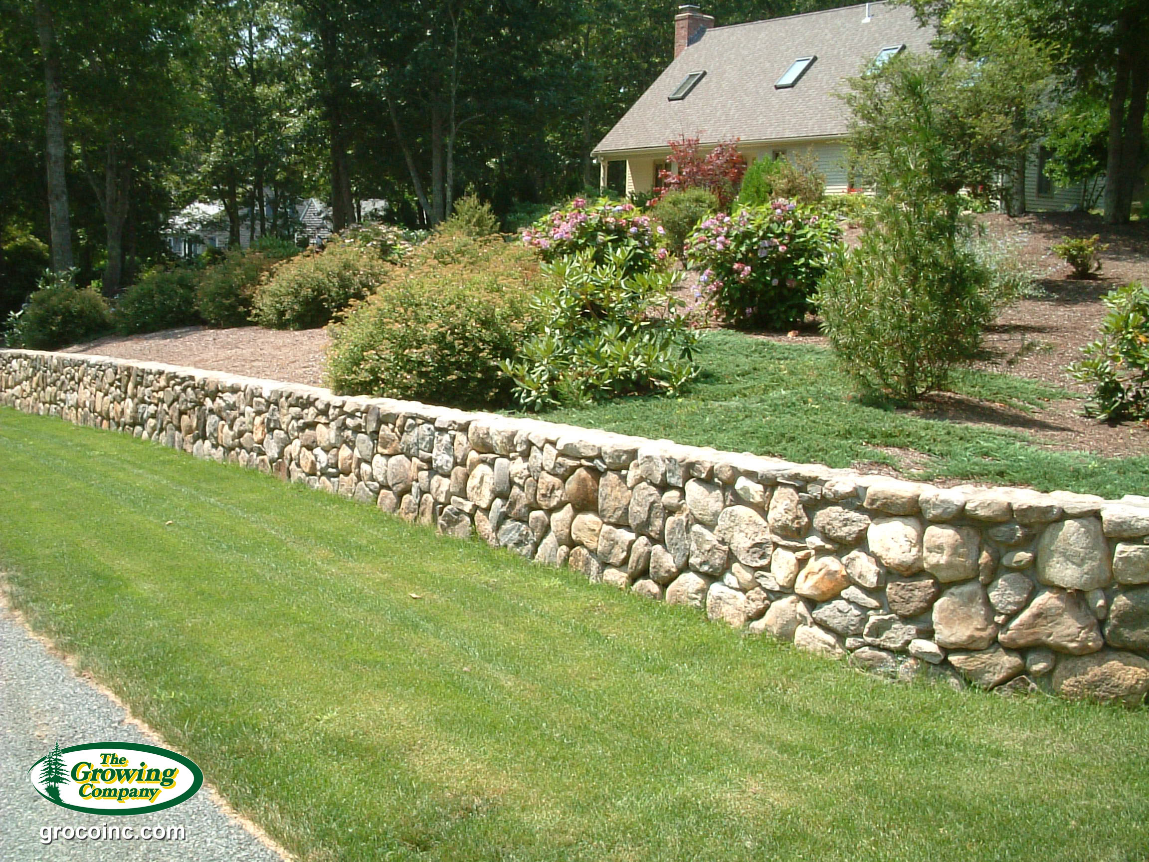 Retaining walls for cotuit osterville chatham orleans for Landscaping rocks new orleans